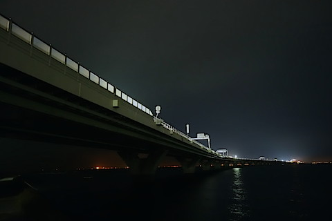 RXアクアライン夜景