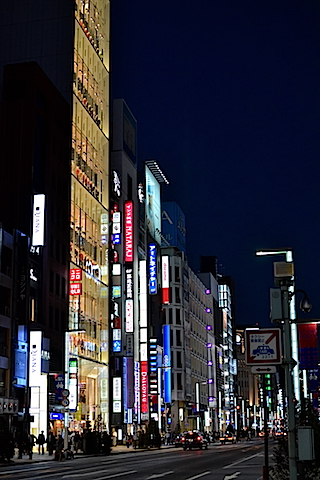 夜銀座〜東京駅04
