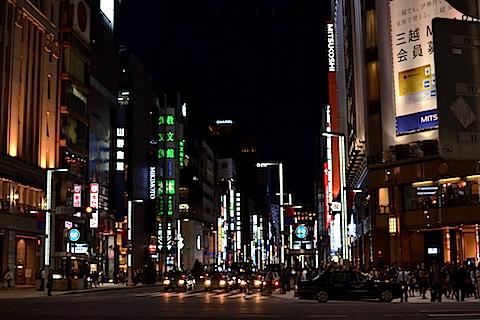 夜銀座〜東京駅09