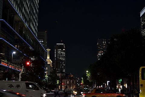 夜銀座〜東京駅29