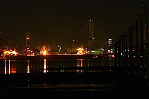 海中電柱11