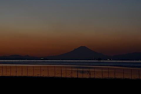 夕陽富士02