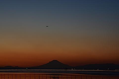 夕陽富士03