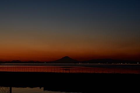 夕陽富士05