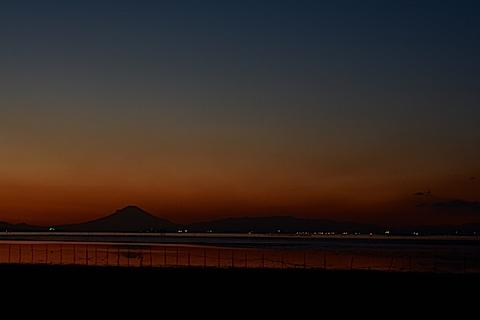 夕陽富士06