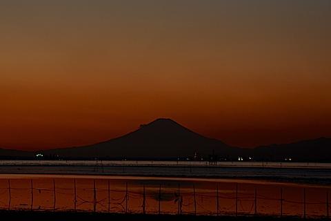 夕陽富士07