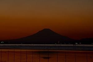 夕陽富士08