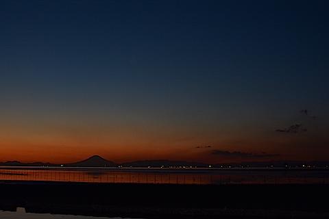 夕陽富士09