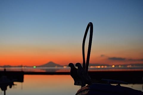 夕陽富士11