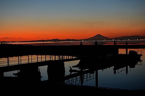 夕陽富士13