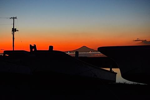 夕陽富士14