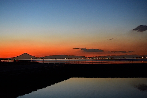 夕陽富士15