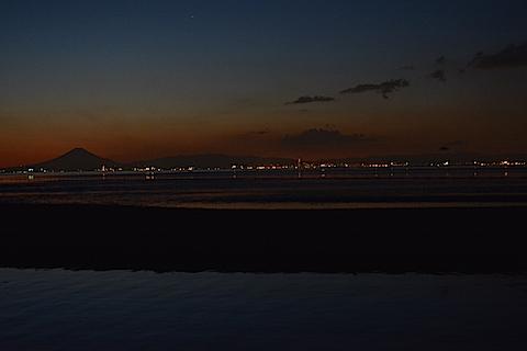 夕陽富士16