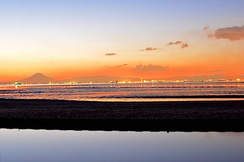 夕陽富士17