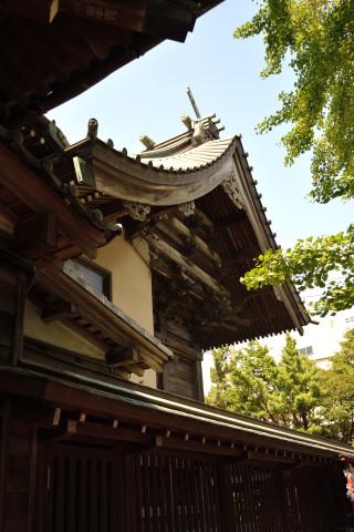 祭り前日の八剱八幡神社3