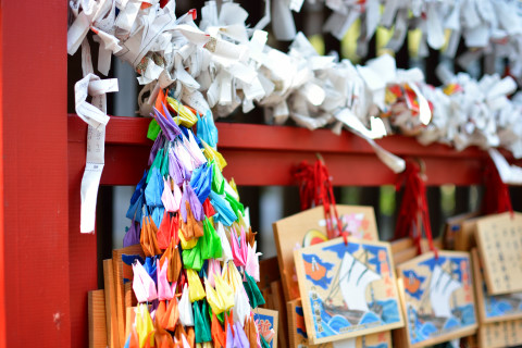 祭り前日の八剱八幡神社4