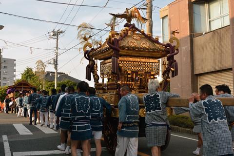 八剱八幡神社祭礼16