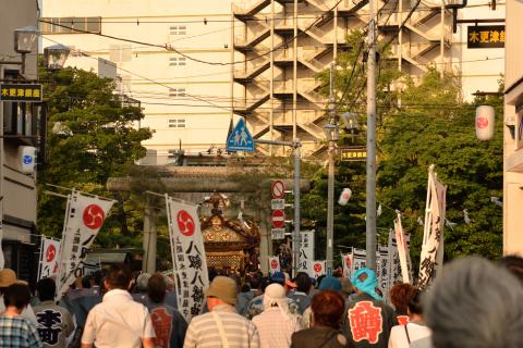 八剱八幡神社祭礼25