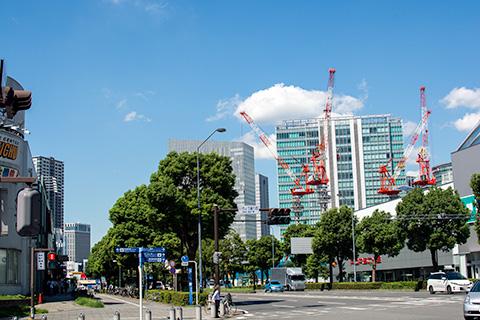 横浜駅から桜木町駅まで19