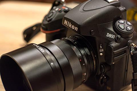 D800&planar85mm