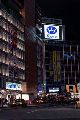 新宿駅付近33
