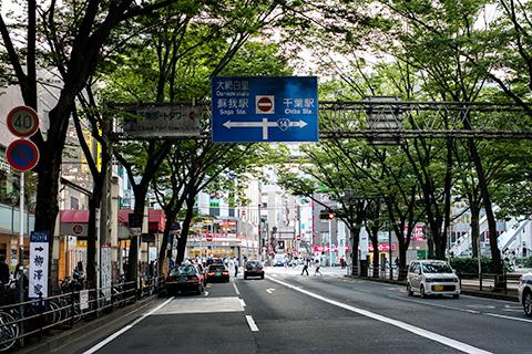 千葉中央公園〜JR千葉駅付近04
