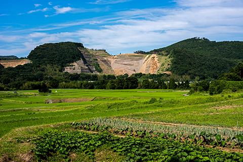 鹿野山の麓16