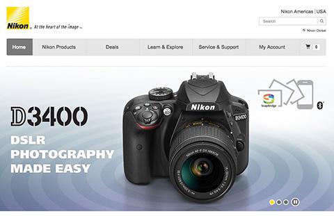 ニコンD3400 スクリーンショット