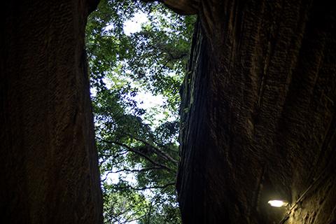 燈籠坂大師の切り通しトンネル29