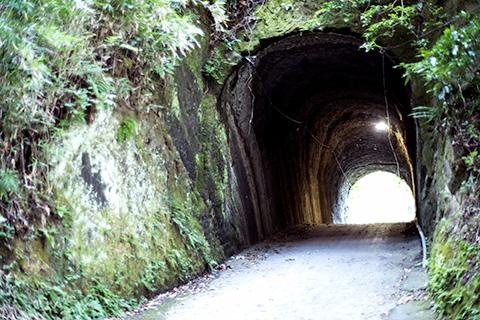 燈籠坂大師の切り通しトンネル33