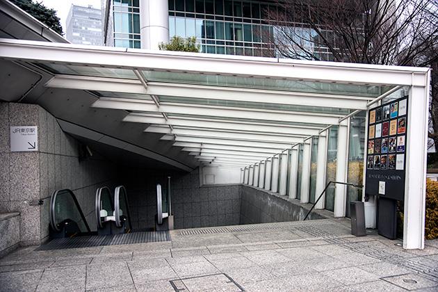 東京駅〜銀座02