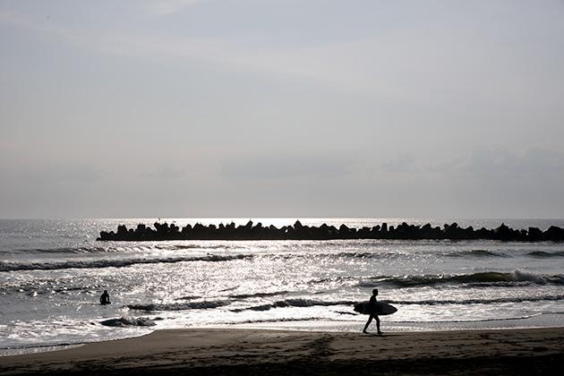 一宮海岸朝日10
