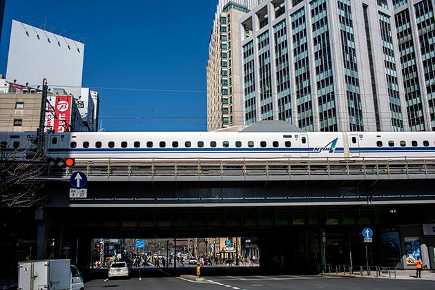 東京駅〜浜松町駅13