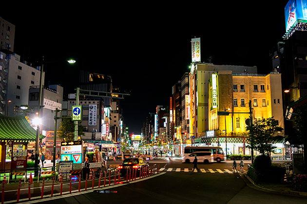 夜の浅草散歩10