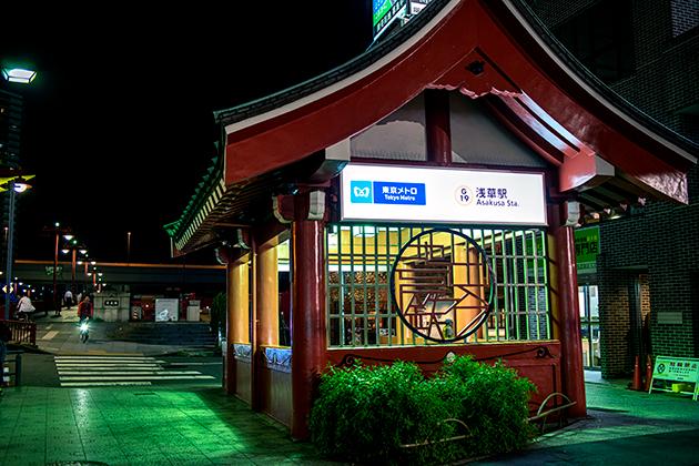夜の浅草散歩13