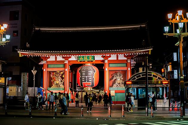 夜の浅草散歩16