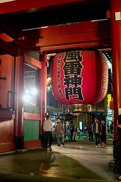 夜の浅草散歩18