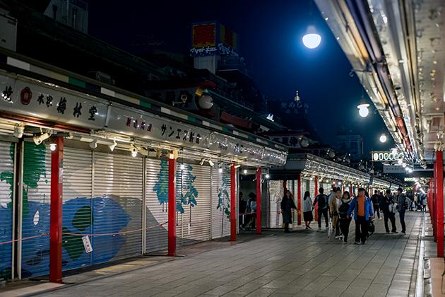 夜の浅草散歩21