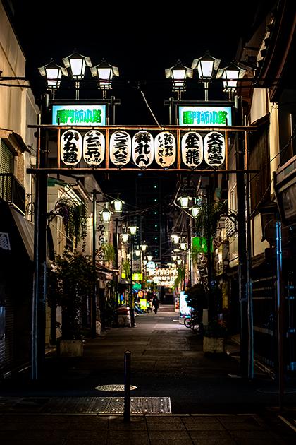 夜の浅草散歩23