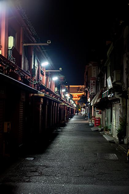 夜の浅草散歩24
