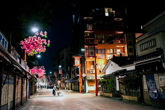 夜の浅草散歩41