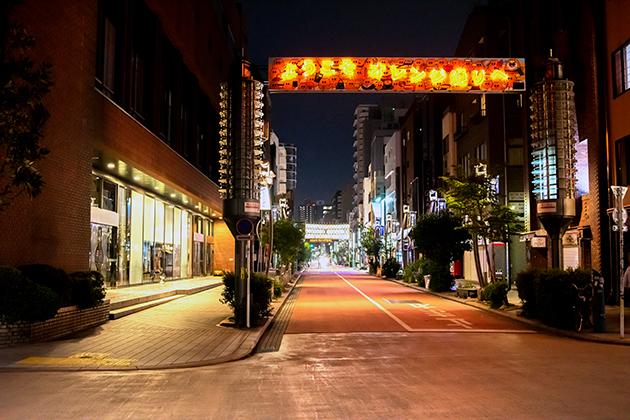 夜の浅草散歩45