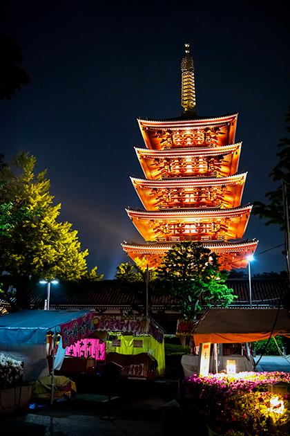 夜の浅草散歩84