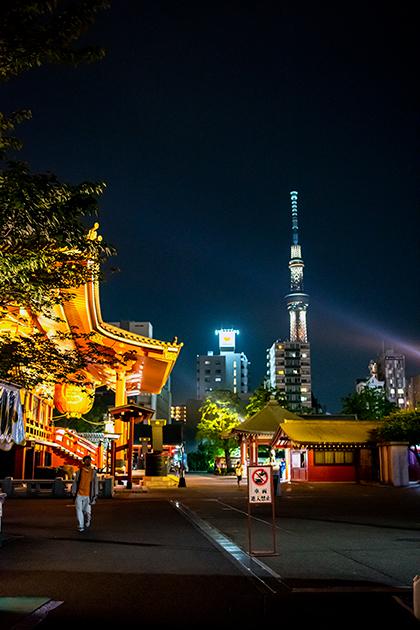 夜の浅草散歩86