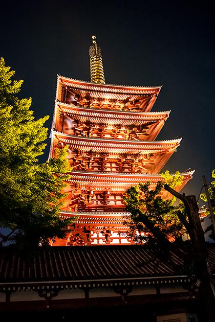 夜の浅草散歩88