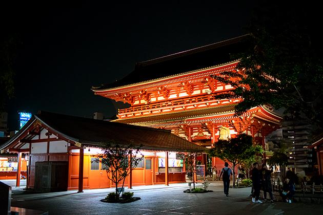夜の浅草散歩89