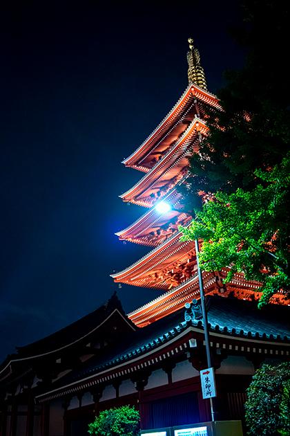 夜の浅草散歩90