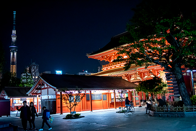 夜の浅草散歩91