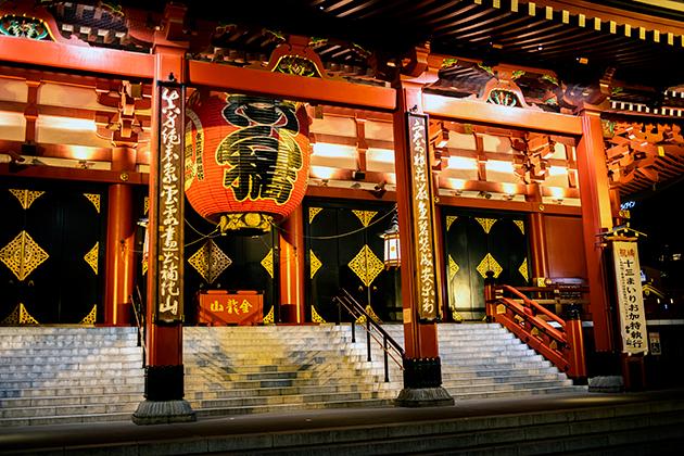 夜の浅草散歩93