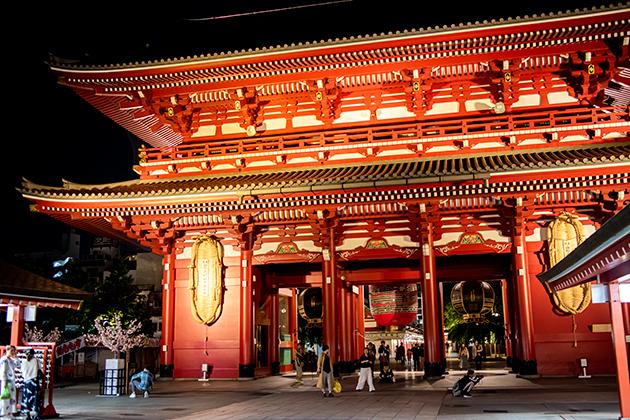夜の浅草散歩94